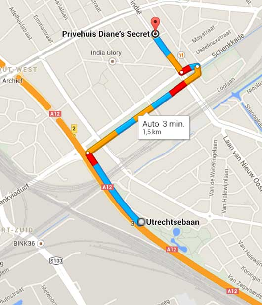 img route to DS - Contact met ons privehuis